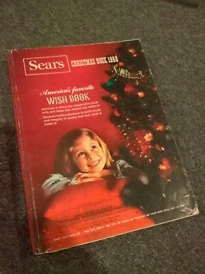 1968 Sears CHRISTMAS Catalog Book - Toys - Wishbook - Wish Book