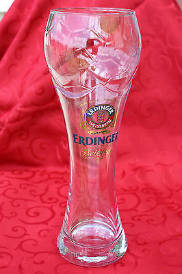 "Erdinger German Beer Glass 0.5 Liter - ""Soccer Champion"""