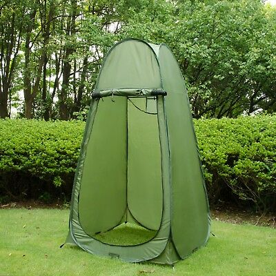 30Zipper Pop Up Tent Changing Room Toilet Shower Fish Camping Dressing Bathroom