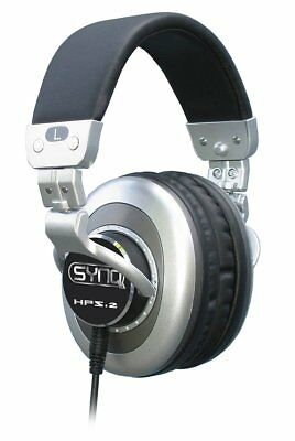 Synq HPS2 Grey Designed for The Professional DJ Foldable Closed Dynamic Headphon