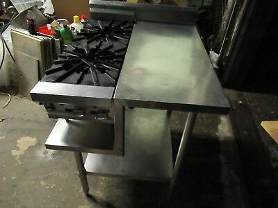 Gas 2 Burner Hot Plate With Ss Table