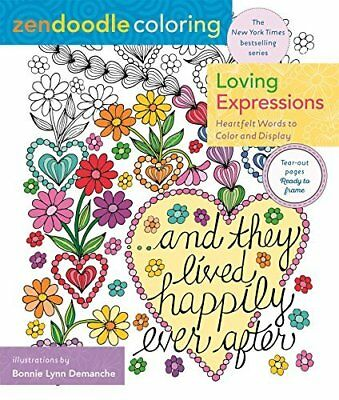 Loving Expressions: Heartfelt Words to Color and Display (Zendoodle Coloring)