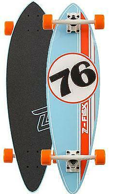 Z-Flex Mini Pintail Racing 76 Blue Burnt Orange Cruiser Complete