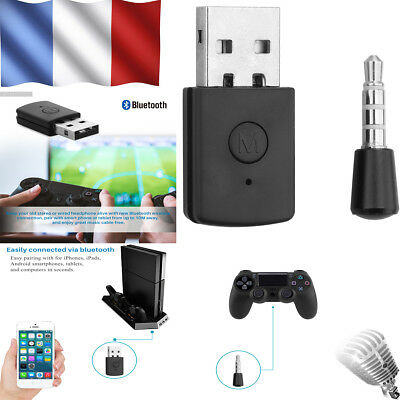 PS4 USB 3.5mm Bluetooth Dongle Latest Version USB Adapter Headsets