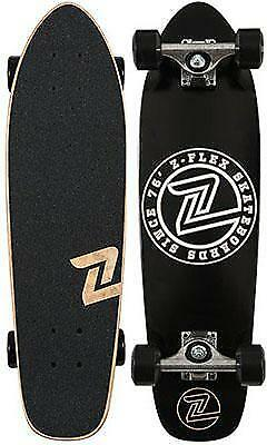 Z-Flex Z Circle Black/White Cruiser Complete 27""