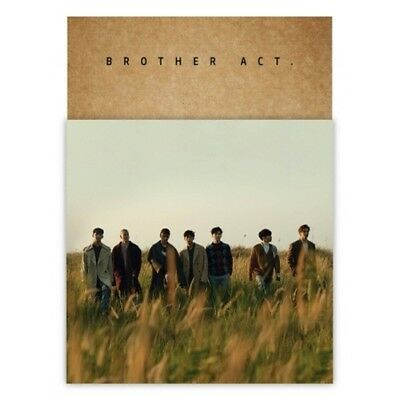BTOB-[BROTHER ACT.] 2nd Album CD+Poster+Booklet+Card+Bookmark+Mini Poster(On)