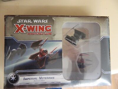 Star Wars - X-Wing - Imperial Veterans- Brand New!