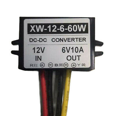 DC12V To DC6V 10A 60W Step Down Power Supply Converter Adapter Regulator Module