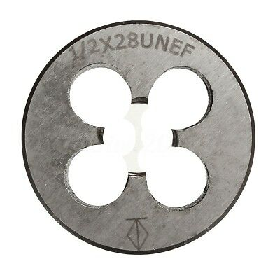 Round 1/2''-28 Muzzle Threading Right Hand Die Alloy Tool Steel 38mm Diameter