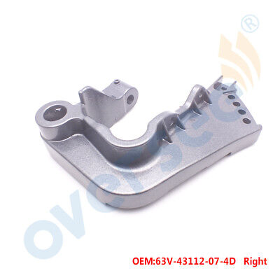 63V-43112-07-4D BRACKET, CLAMP 2 For Yamaha Outboard Engine Motor 9.9HP 15HP