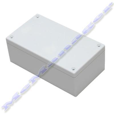 135x75x50mm Grey ABS Plastic Enclosure Small Project Box For Electronic Circuit