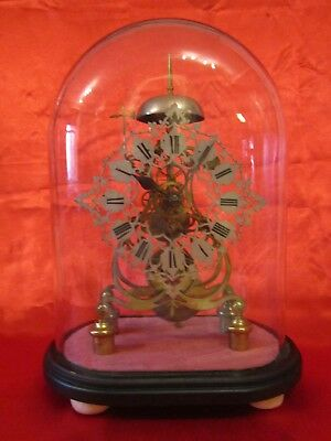 Victorian fusee skeleton clock of the finest quality