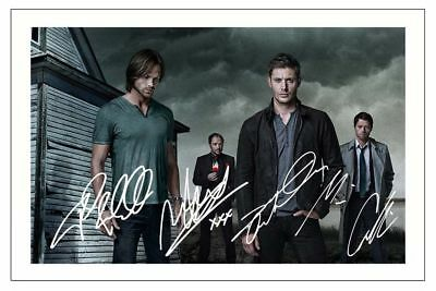 Jensen Ackles Sheppard Collins Jared Padalecki Supernatural Signed Photo Print