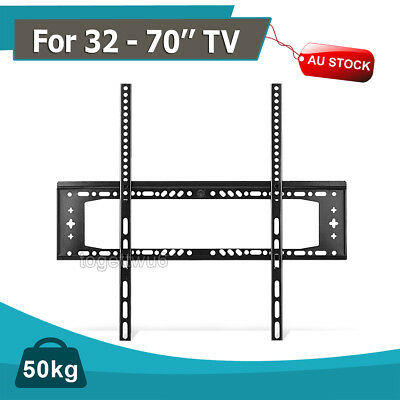 TV WALL MOUNT BRACKET LCD LED Plasma Flat Slim 32 40 42 46 47 50 52 55 60 65 70