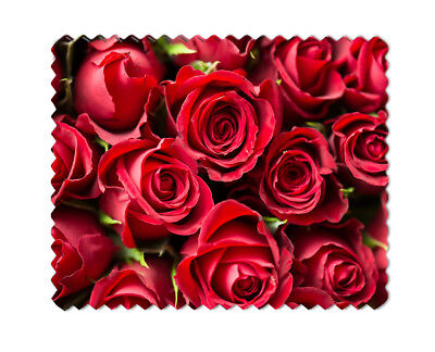 Red Roses Lens Sunglasses  Eye Glasses Cleaning Cloth