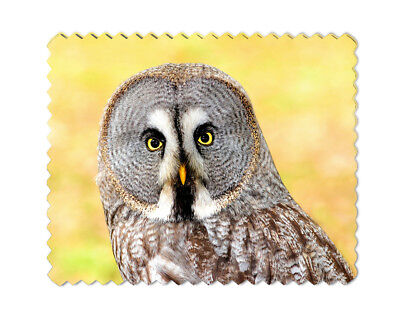 Owl Microfiber Lens Glasses Cleaning Cloth