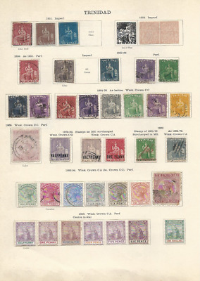 Trinidad Collection (60+ Stamps)