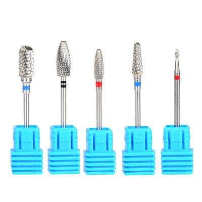 Carbide Nail Drill Bit Cuticle Clean Pilshing Gel Remove For Manicure Pedicure