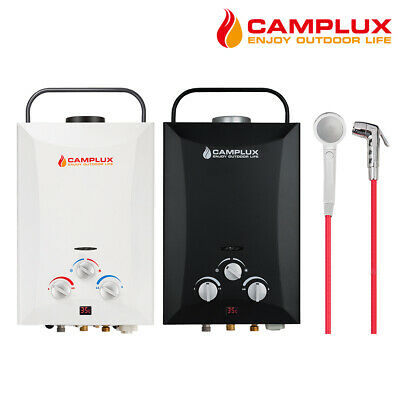 CAMPLUX Portable Gas Hot Water Heater Camping Shower RV Outdoor 4WD