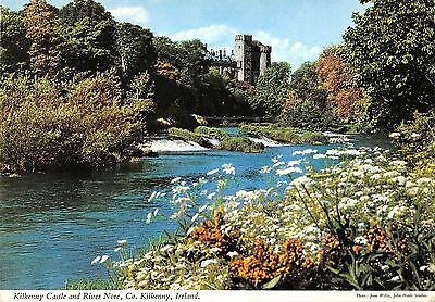 B100853 kilkenny castle and river nore ireland