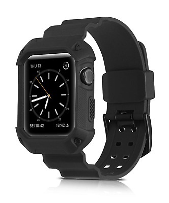Rugged Armor Outdoor Armband für Apple Watch 42mm black