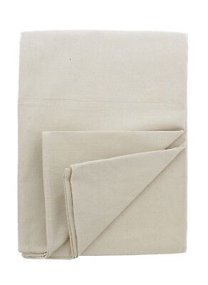 ABN Painters Beige Canvas Paint Drop Cloth Large 4' x 15' Foot for Painting