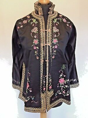 Antique/vintage Chinese Embroidered Silk Jacket