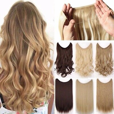 Secret Wire Body wav Hidden/Invisible Flip Wire in Hair Extensions as human R70