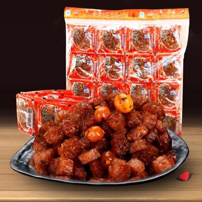 65x/pack Chinese Delicious Gluten Bean Jin Spicy Snack Food.