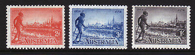 Australia. Sg 147-149. Mounted Mint.