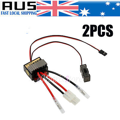320A Brushed Speed Controller ESC/w Reverse for RC Car Truck Buggy Boat 1/10 1/8