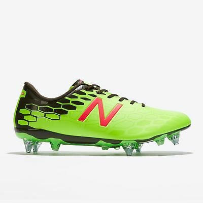 New Balance Visaro 2.0 Control Soft Ground Scarpe da Calcio Energy Lime/Military