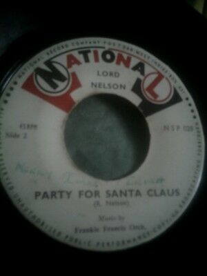Lord Nelson- Stella /party For Santa Claus - National  7''45