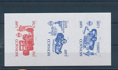 LH19829 Monaco imperf old timers cars good sheet MNH