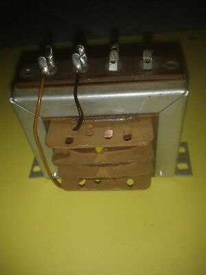 anode choke, Anodendrossel,  EI60, 70H, 2k4, see text