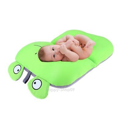 Frog Design Foldable Baby Bath Tub Newborn Baby Bath Seat Blooming Bath Mat