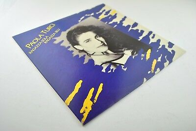 Paola Turci ‎– Ragazza Sola Ragazza Blu LP! 1°ST ITA Press! Ex Audio! MEGA RARE!