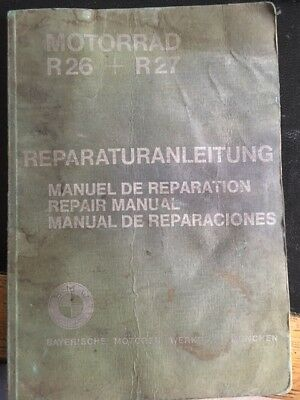 BMW R26 and R27 Genuine Workshop Manual