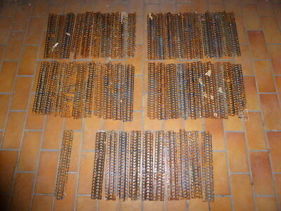 Lot of 51 French Hotchkiss MG Machine Gun Belt Link for 8mm Lebel Cartridge WW1