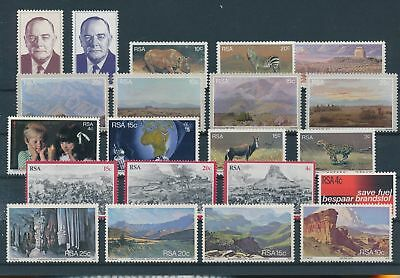 LH20342 South Africa nice lot of good stamps MNH