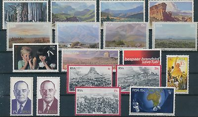LH20343 South Africa nice lot of good stamps MNH