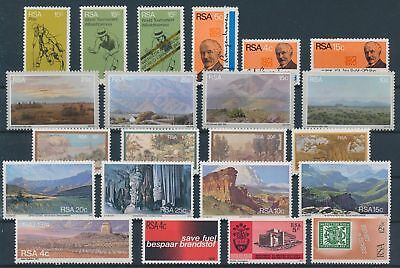 LH20344 South Africa nice lot of good stamps MNH
