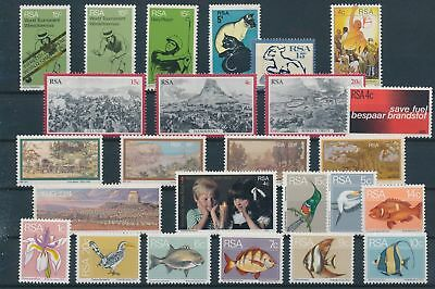 LH20348 South Africa nice lot of good stamps MNH