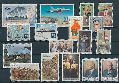 LH20352 South Africa nice lot of good stamps MNH