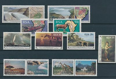 LH20356 South Africa nice lot of good stamps MNH