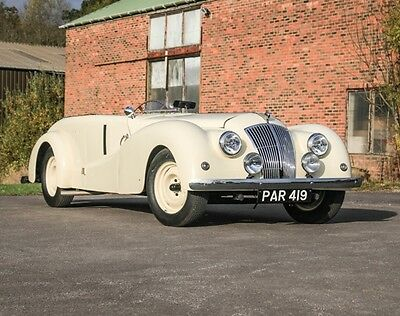 1953 AC Cars Buckland Tourer Mark 1 Competition History