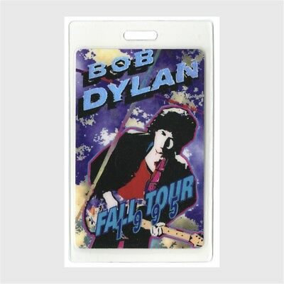 Bob Dylan authentic 1995 concert Laminated Backstage Pass Fall Tour