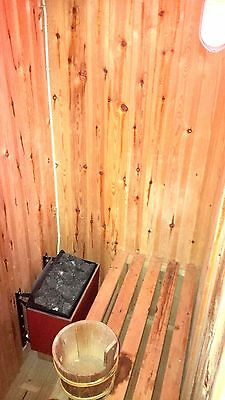ELECTRIC SAUNA | 1 - 3 Person | Never Been Used | Made The UK