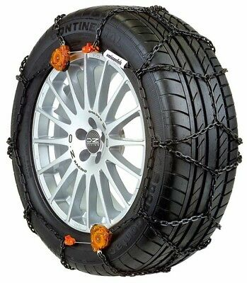 WEISSENFELS SNOW CHAINS RTS CLACK & GO SUV GR 5 195-15 13 mm THICKNESS F3A