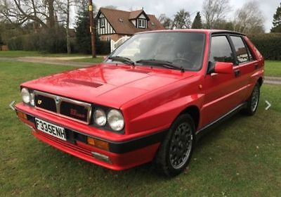 1989 Lancia Delta Hf Integrale 2.0T 8V 4Wd 195Bhp, Immaculate Condition, V Rare